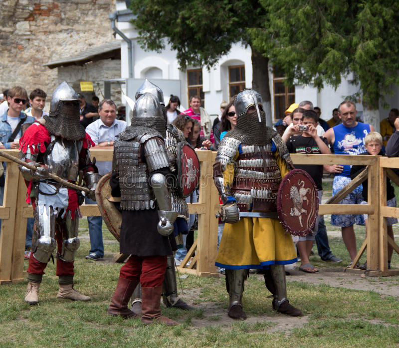 Download Knight editorial photo. Image of crusades, armored, kamyanets - 25137461