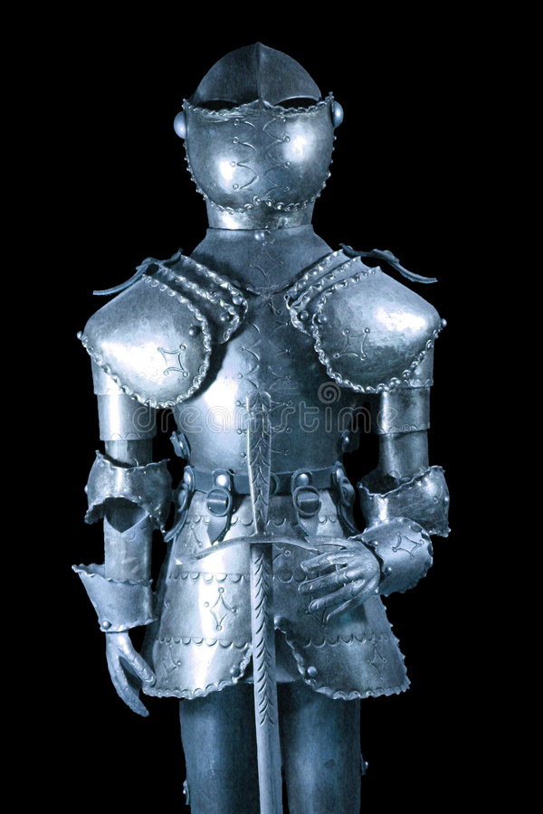 Download Knight stock image. Image of metal, armor, aristocracy - 5820537