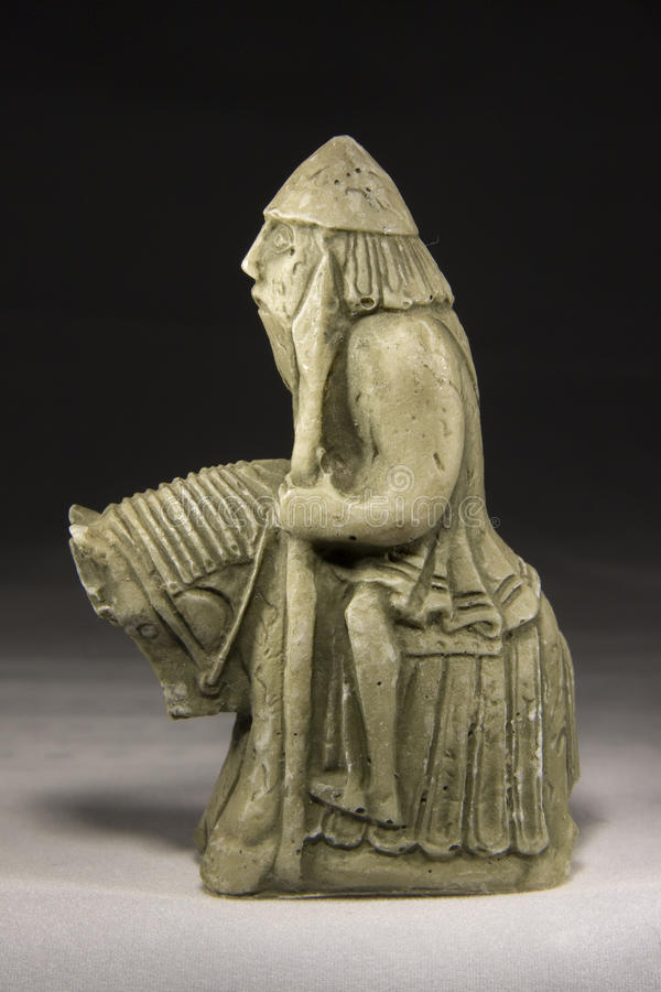 Knight (Ancient Chess Piece) stock images
