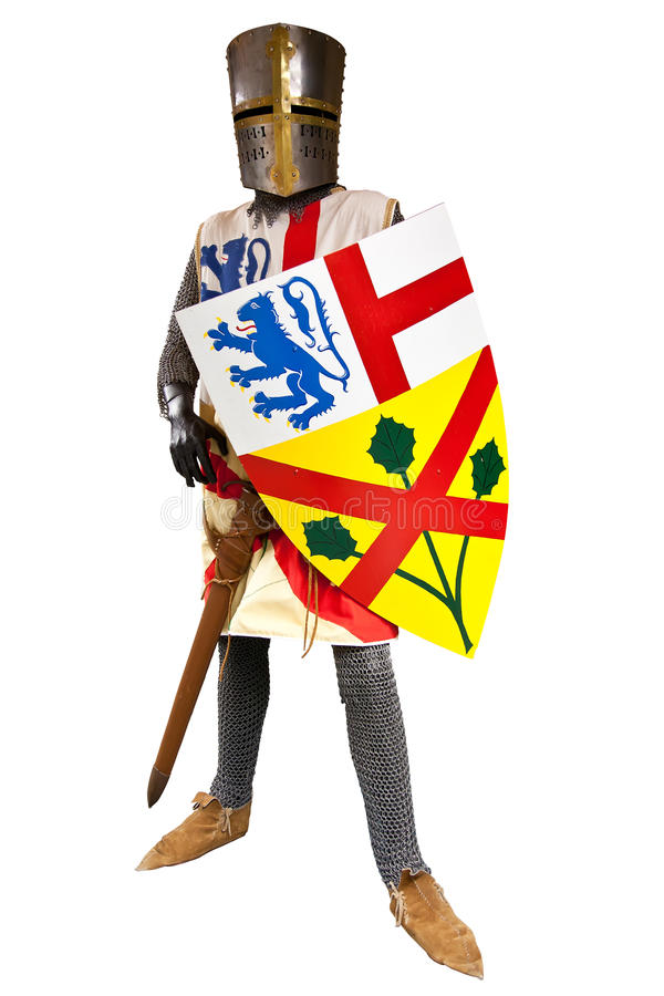 Knight In Armor Stock Image