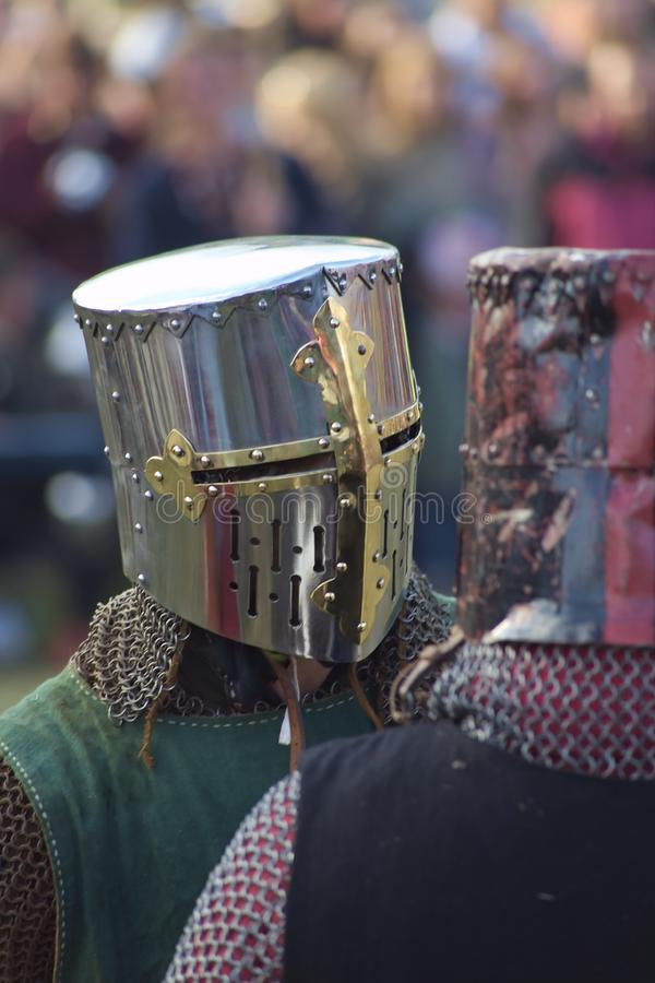 Knight of honor stock photography