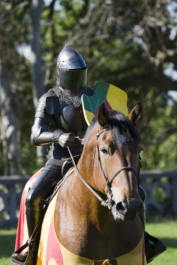 Knight. Medieval Festival stock image