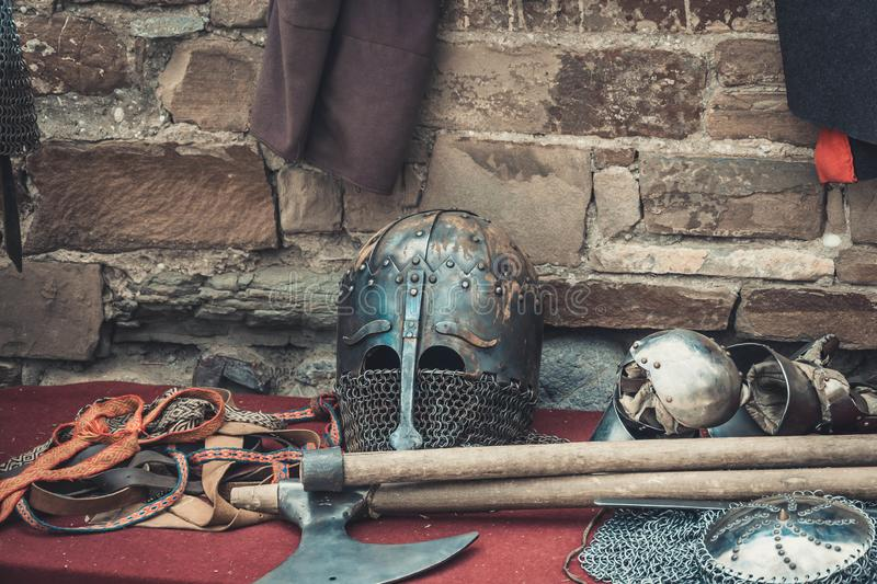 Knight armour stock images