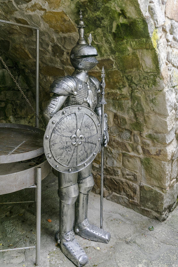 Knight's armour royalty free stock photography