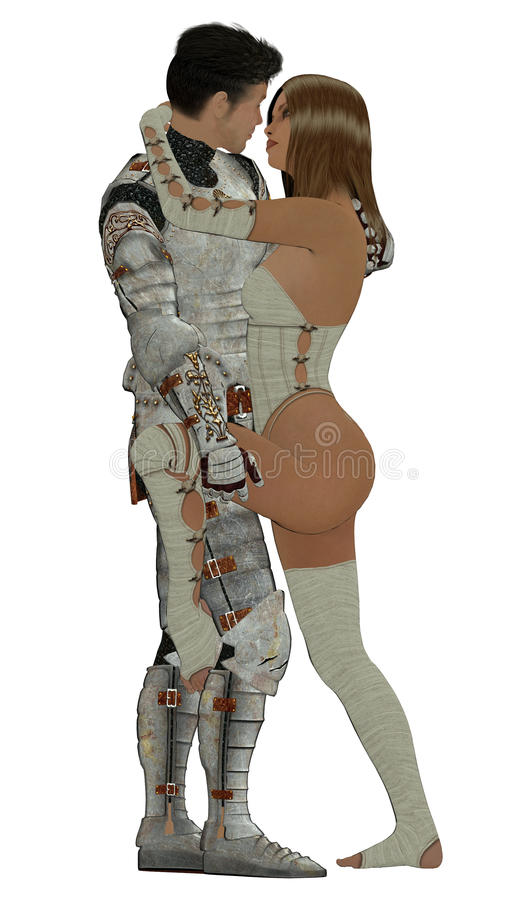 Download Knight In Shining Armour stock illustration. Image of liaison - 9860953