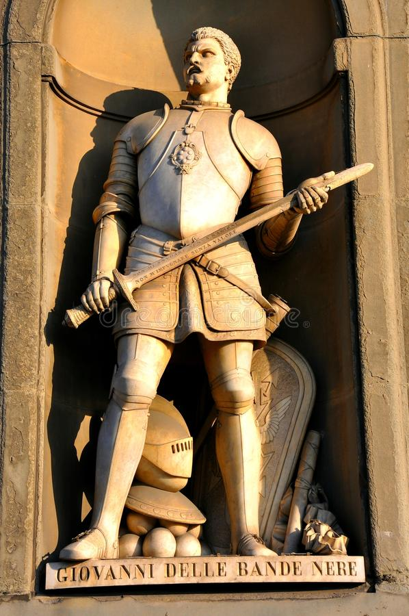 Download Knight statue in Italy stock photo. Image of background - 17855654