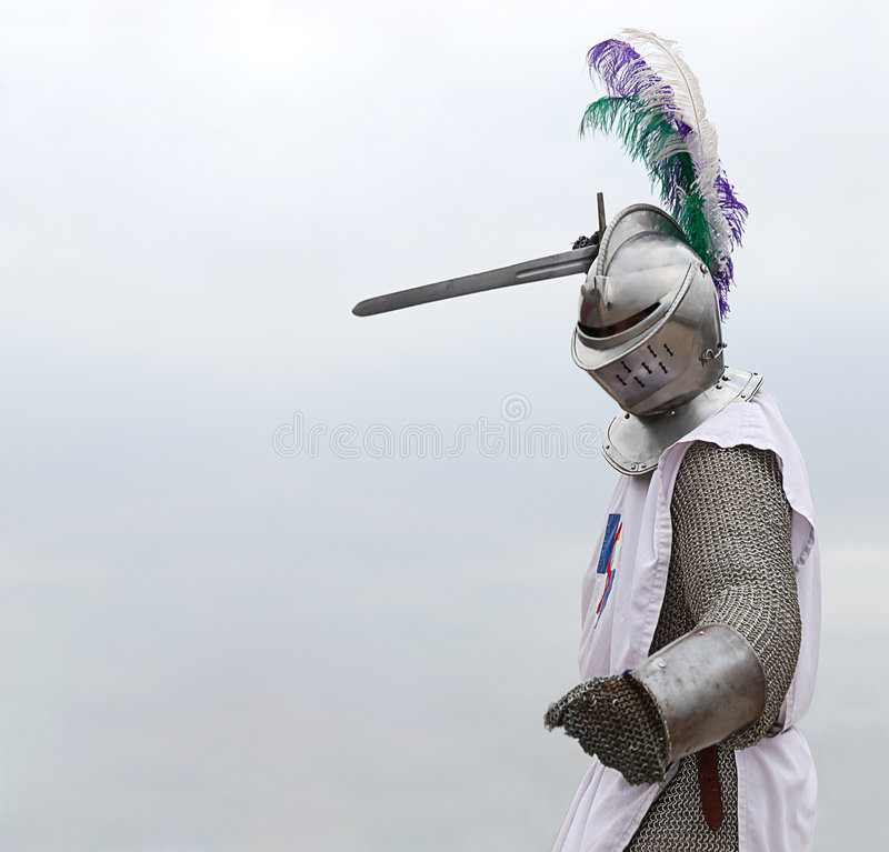 Download Knight with a sword stock photo. Image of concept, chevalier - 7640584