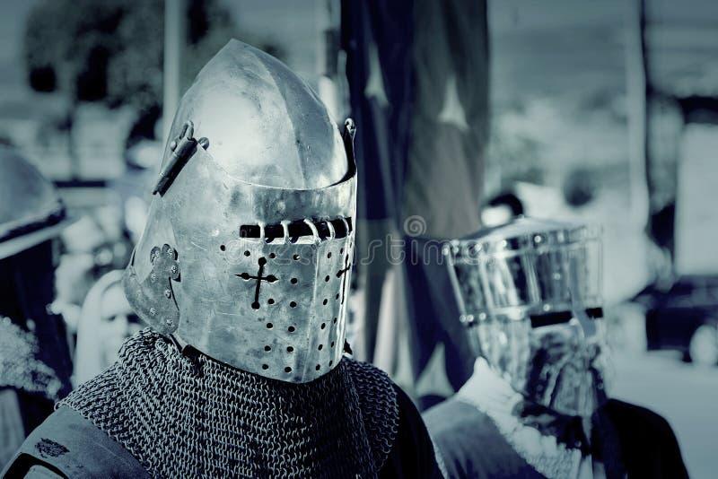 Knight Templar. War, celebration and event stock photos
