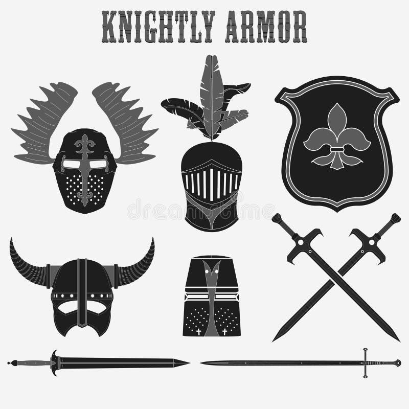 Knightly панцырь бесплатная иллюстрация
