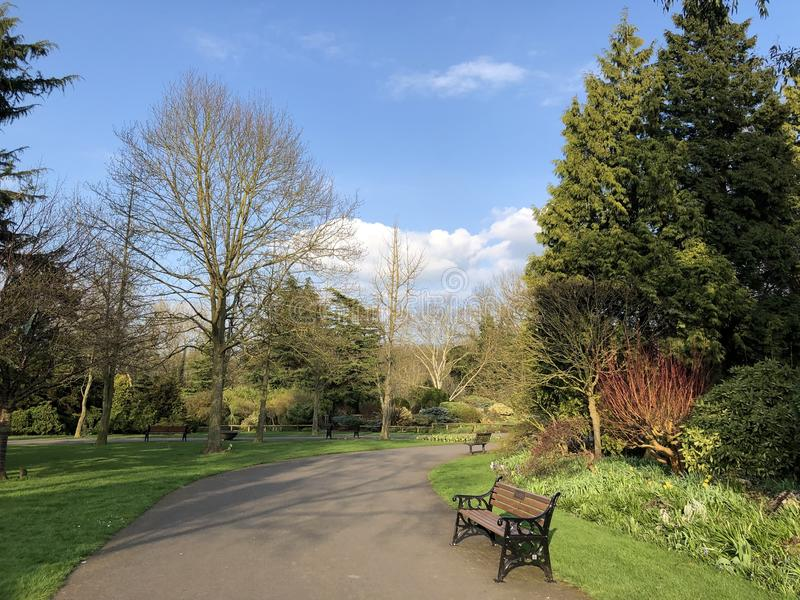 Knighton-Park stockbild