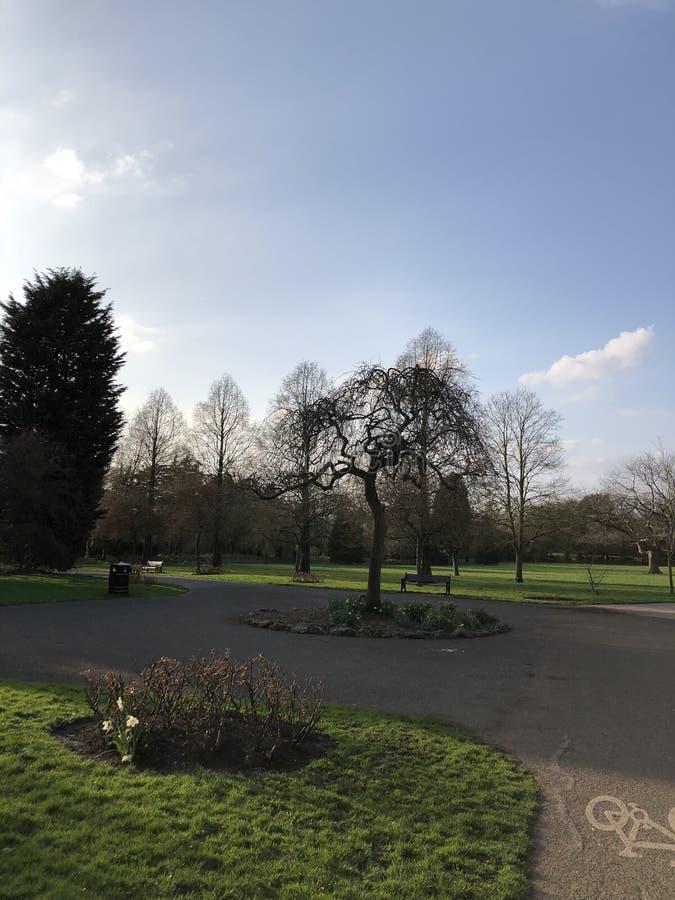 Knighton-Park lizenzfreie stockbilder