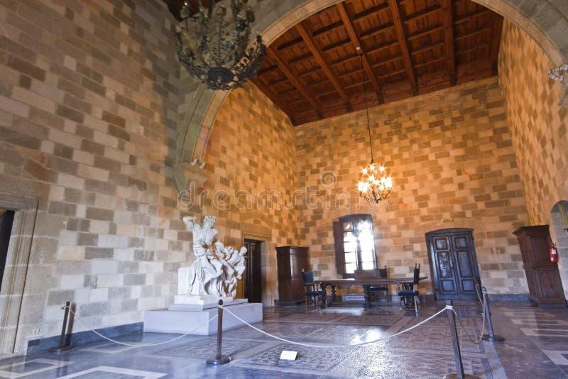 knights дворец rhodes стоковые фото