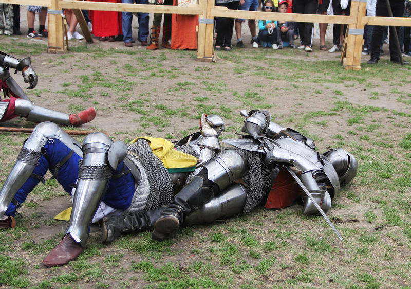 Download Knights editorial stock photo. Image of brave, medieval - 25137753