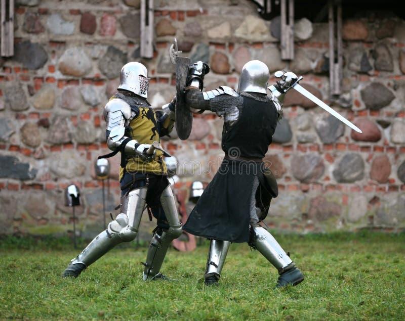 Knights royalty free stock photo