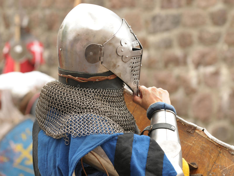 Download Knights in an armor stock image. Image of protective - 21338057