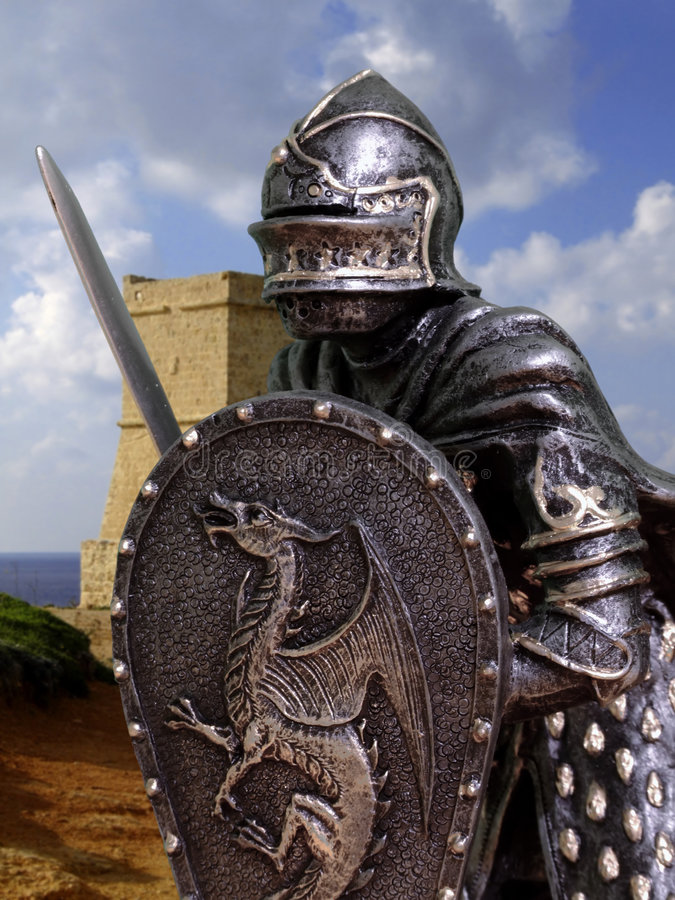 Knights & Armour royalty free stock image