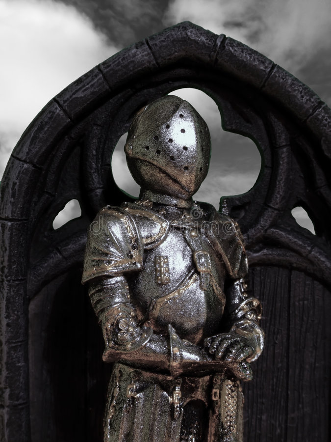 Knights & Armour royalty free stock photos