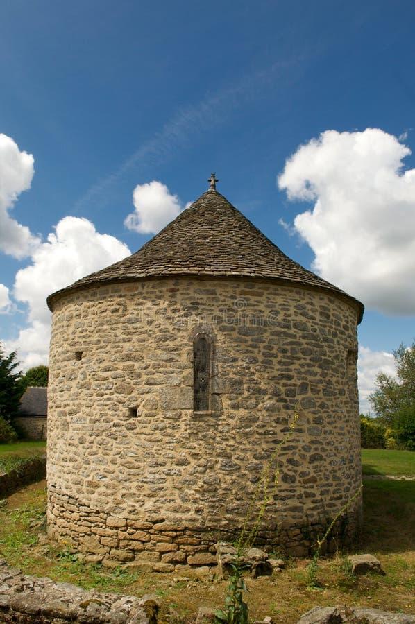 Knights la capilla del templer en Bretaña fotografía de archivo