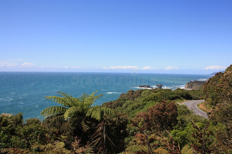 Knights Point Lookout stock image
