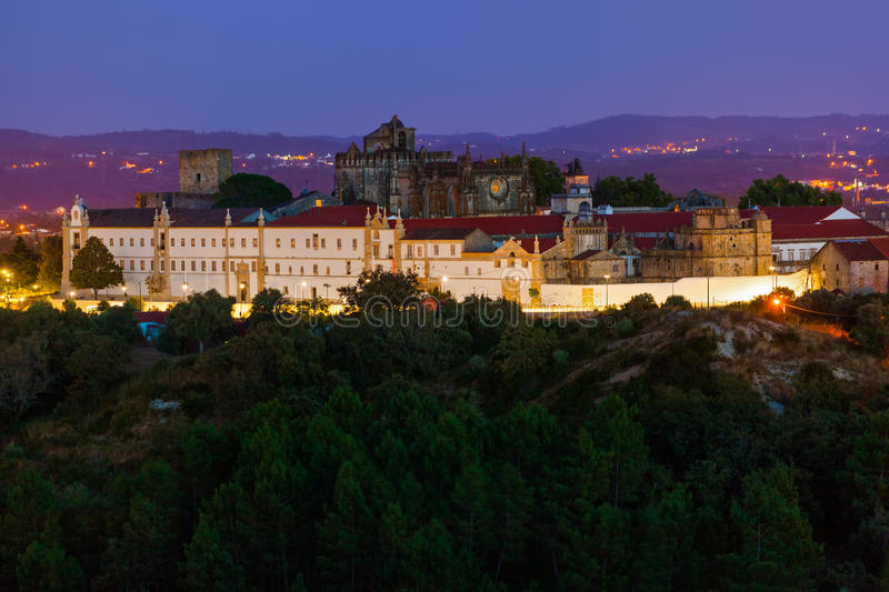 Knights of the Templar (Convents of Christ) castle - Tomar Portugal. Knights of the Templar (Convents of Christ) castle in Tomar Portugal stock photos
