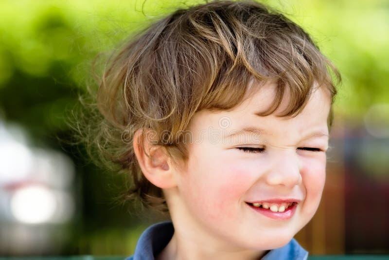 Knipperende jongen royalty-vrije stock foto
