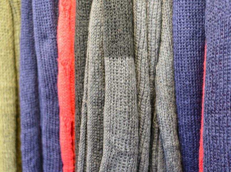 Knit-Abnutzung lizenzfreie stockbilder
