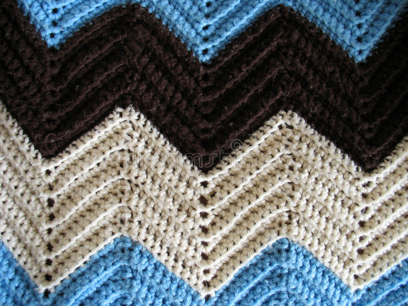Knitted Afghan Pattern stock image. Image of material, fluff - 626145