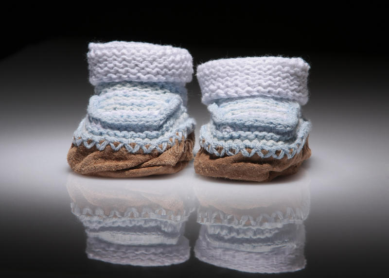 Download Knitted Baby Booties Stock Image - Image: 16784081