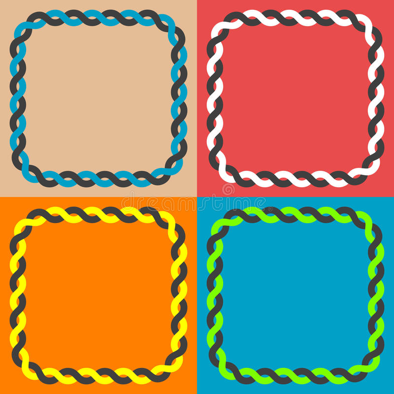 Download Knitted border stock vector. Image of image, nobody, napkin - 23148528