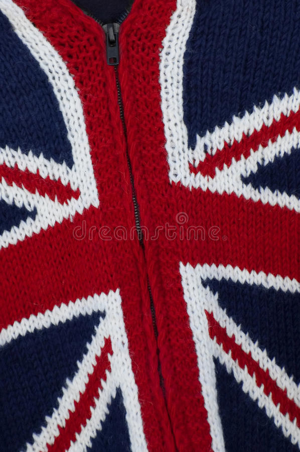 Knitted britain royalty free stock photo