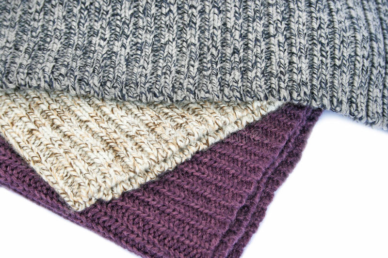 Download Knitted cloth stock photo. Image of grey, fiber, manufacturing - 26986888