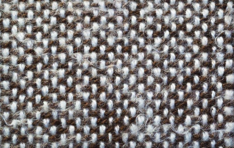 Knitted detalhou o fundo fotografia de stock