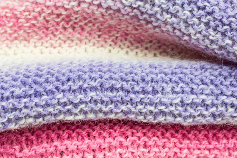 Knitted fabric background royalty free stock image
