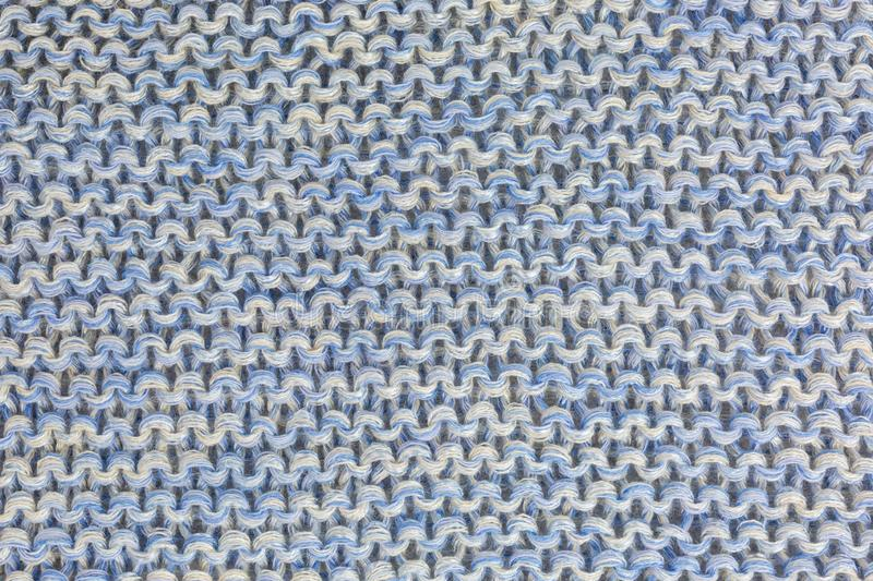 Knitted fabric background stock photography