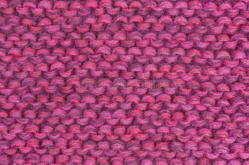 Knitted fabric background royalty free stock photography