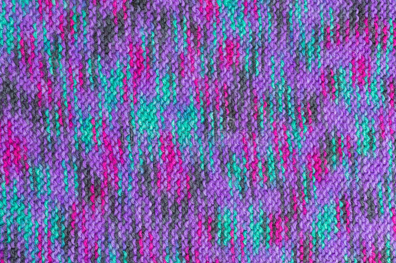 Knitted fabric royalty free stock images
