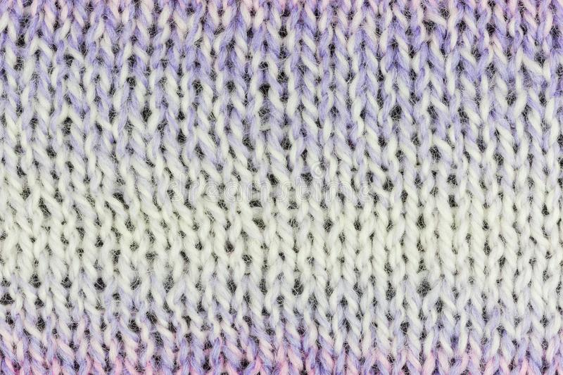 Knitted fabric background royalty free stock photos