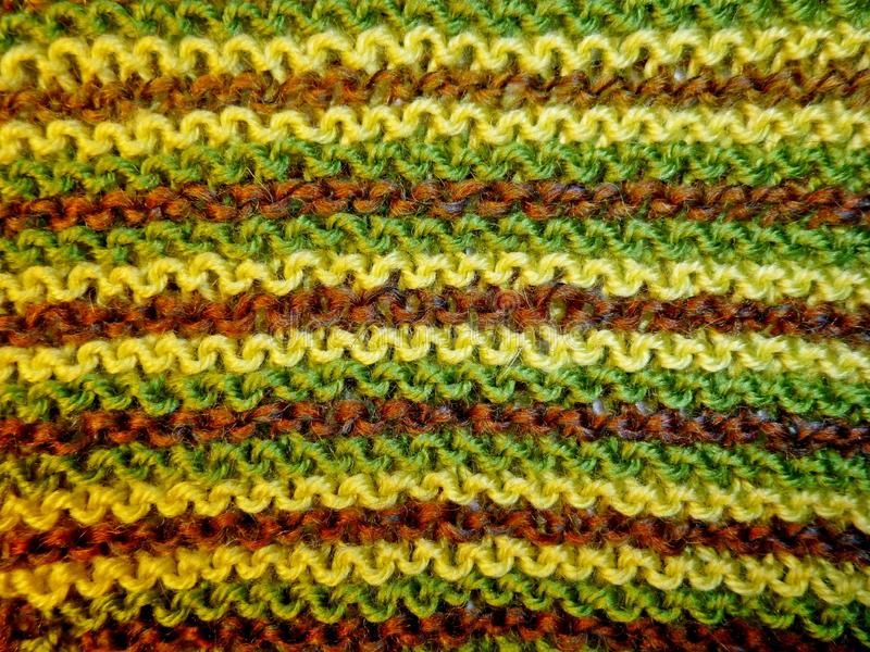 Knitted fabric. Knitting texture. Background image. Hobbies leisure crafts royalty free stock photography