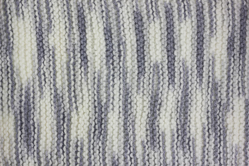 Knitted fabric texture stock image