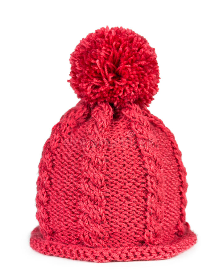Free Knitted Hat Isolated On White Background Stock Photo - 36433830