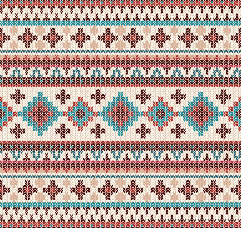Knitted Indian rug paisley ornament seamless pattern. Ethnic Mandala print. Knitted Indian rug paisley ornament seamless pattern. Ethnic Mandala towel, yoga mat stock photo