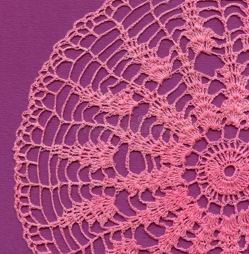 Download Knitted napkin stock image. Image of material, flower - 16597585