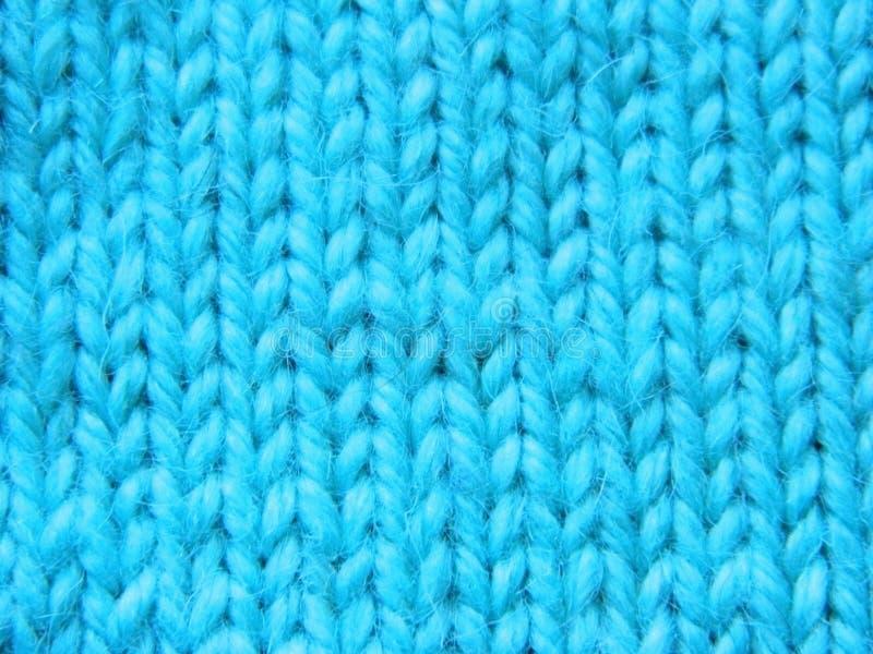 Knitted que faz malha com agulhas de confecção de malhas Superfície do Facial imagem de stock royalty free