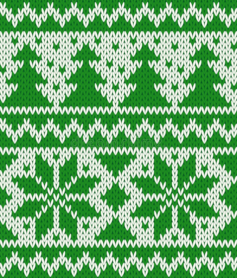knitted seamless pattern stock vector  illustration of scandinavian
