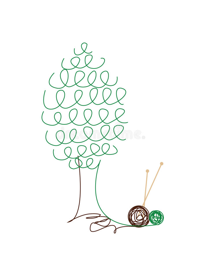 Download Knitted Tree Stock Image - Image: 17466611