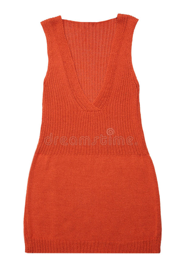 Knitted Vest Royalty Free Stock Image
