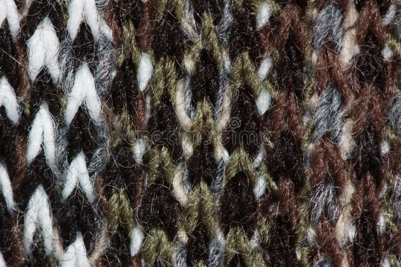 Knitted wool detailed image stock photography