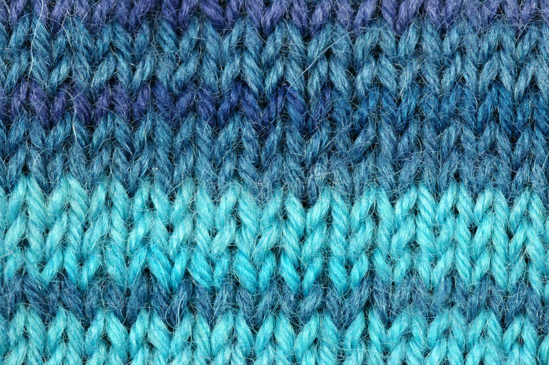Knitted wool texture