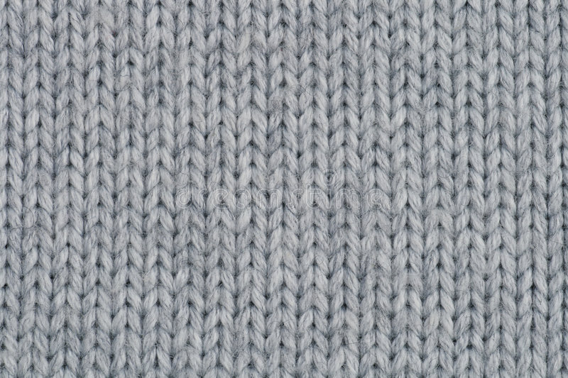 Close Up Photography Of Gray Knit Textile: Knitted Wool Texture. Stock Image. Image Of Hairy, Fluffy