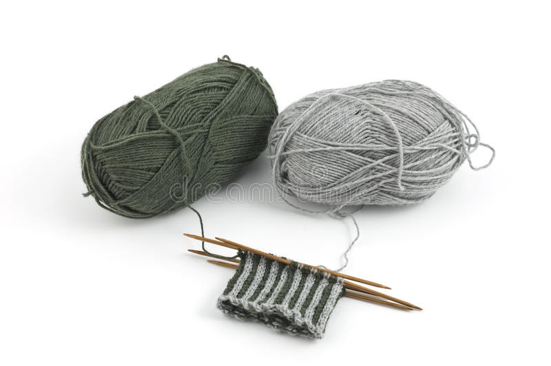 Download Knitting stock image. Image of creative, copy, isolated - 17818909